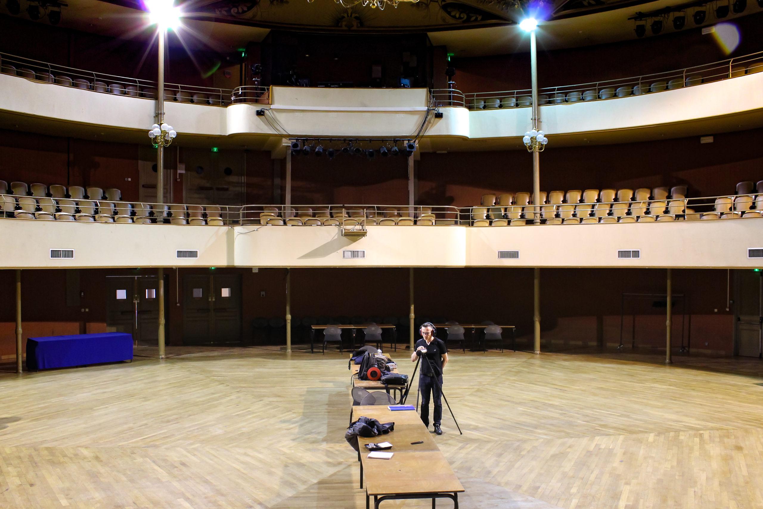 Acoustique d'une salle Philharmonique