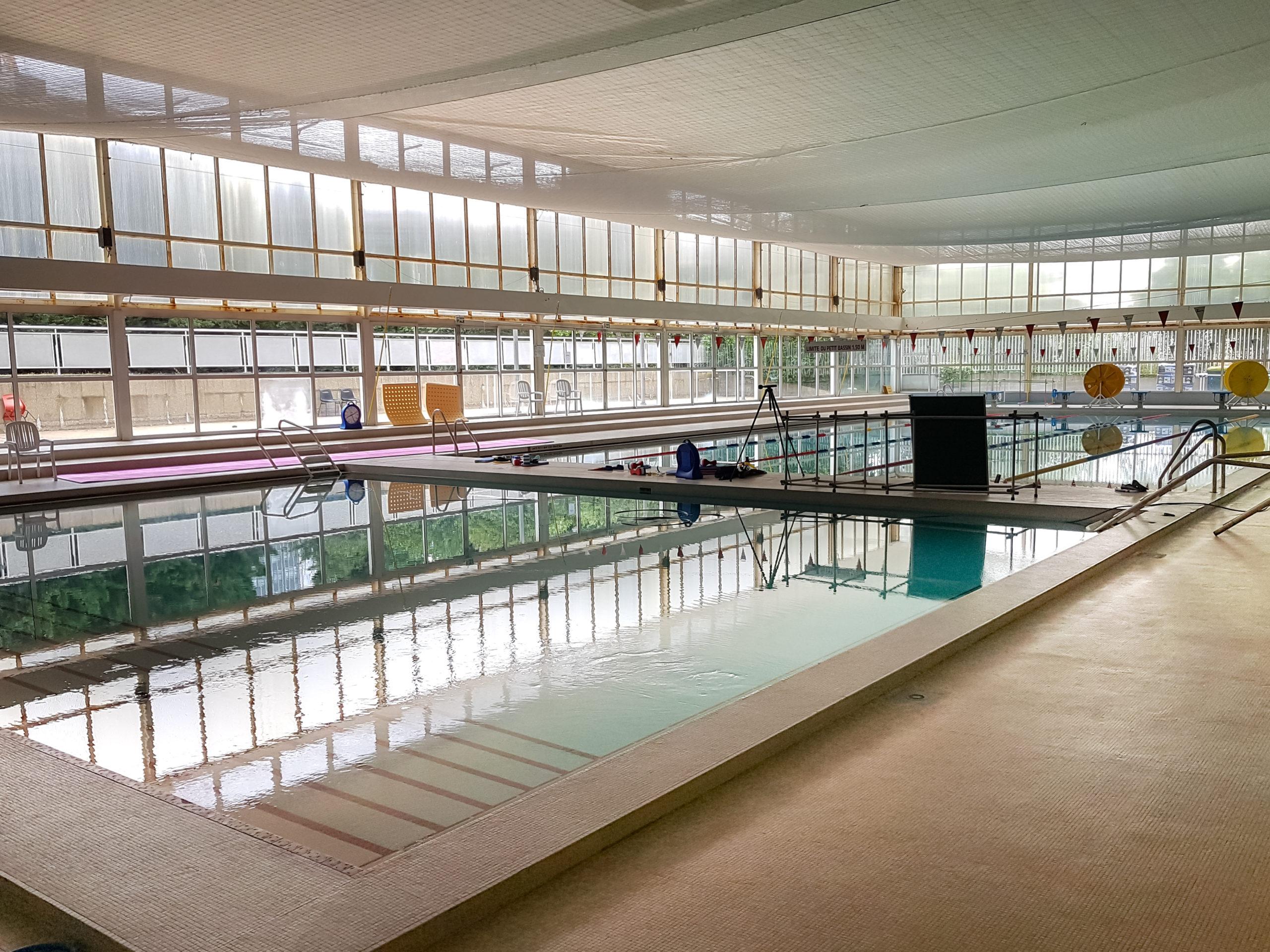 Traitements acoustiques dans les centres aquatiques